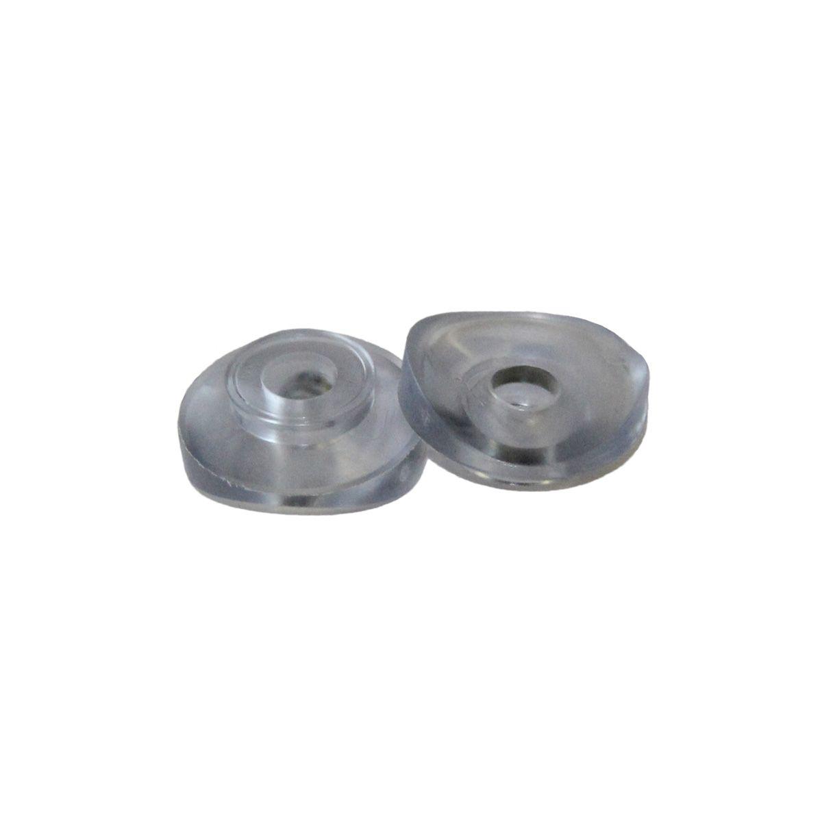 Dichtscheibe, aus PVC, natur, 25er Pack, D 20 mm, 5 mm