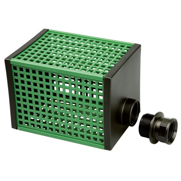 Vorfilter grob, Q 3000 - 13000 l/h, grün, 1' AG, 1 1/4' IG