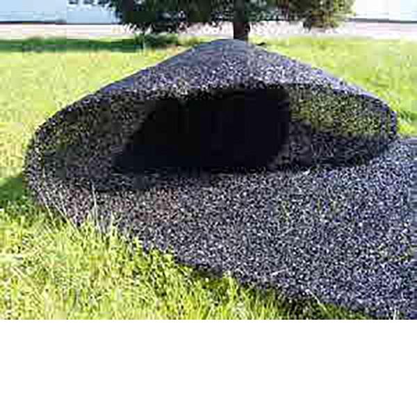 Böschungsmatte aus Nylon, schwarz, 25 x 1 m