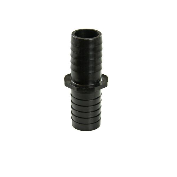 Schlauchverbinder, schwarz, d 32 x 32 mm
