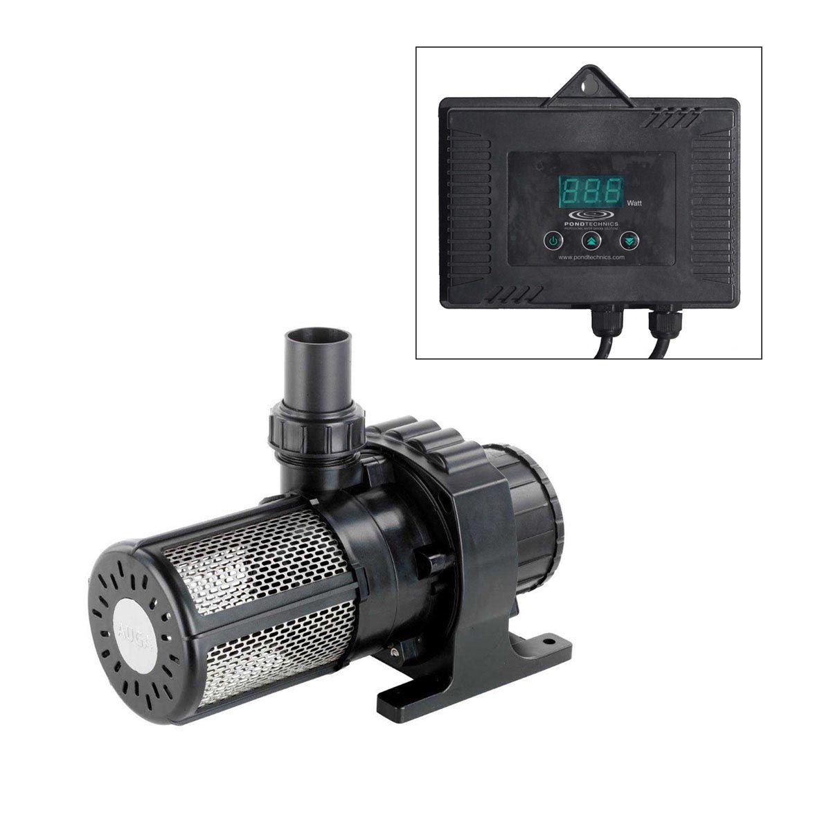 Teichpumpe Viviopro 20000, H max. 5.5 m, Q max. 20000 l/h, 0.20 kW, 335 x 145 x 180 mm