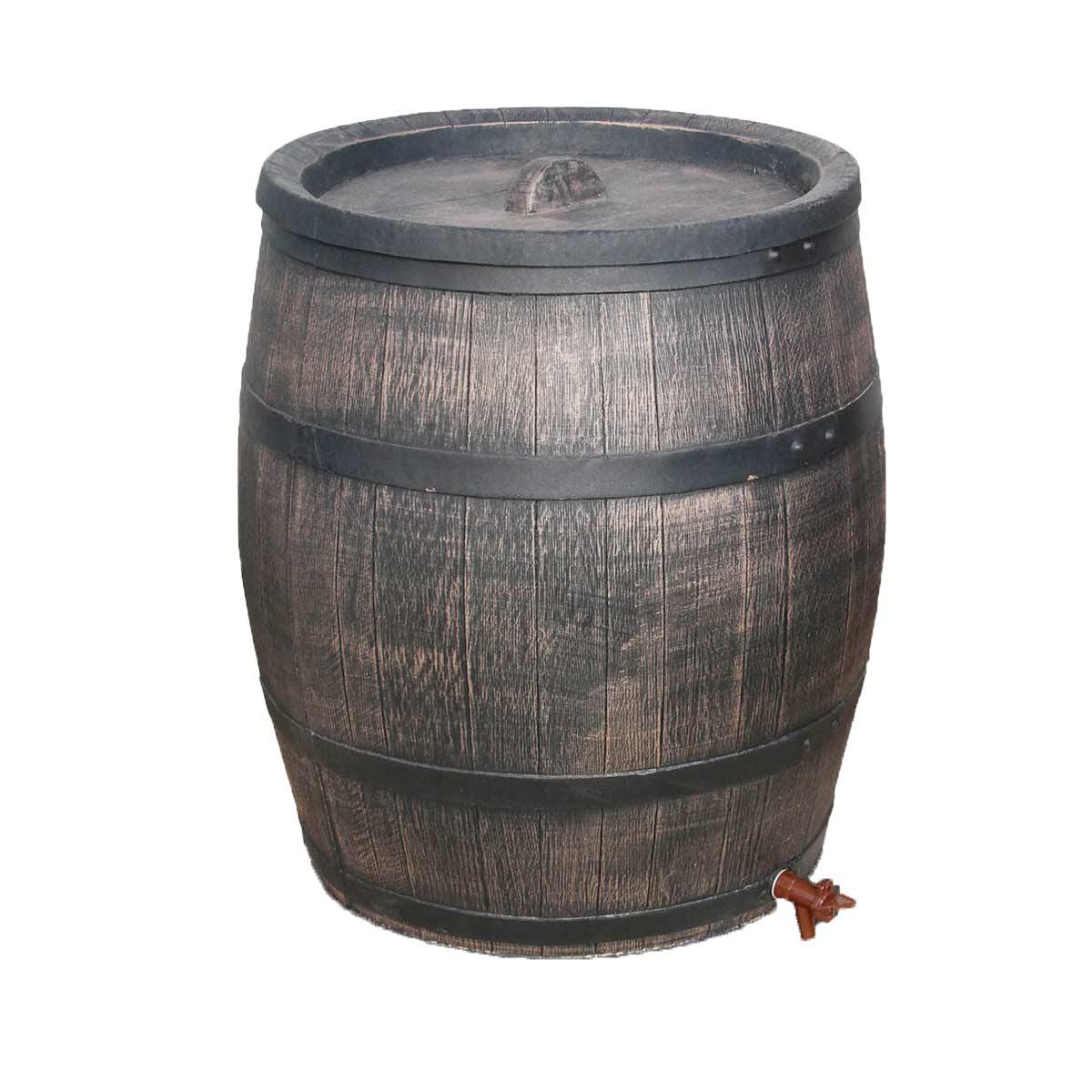 Barrelle d'eau de pluie Madera 120 l