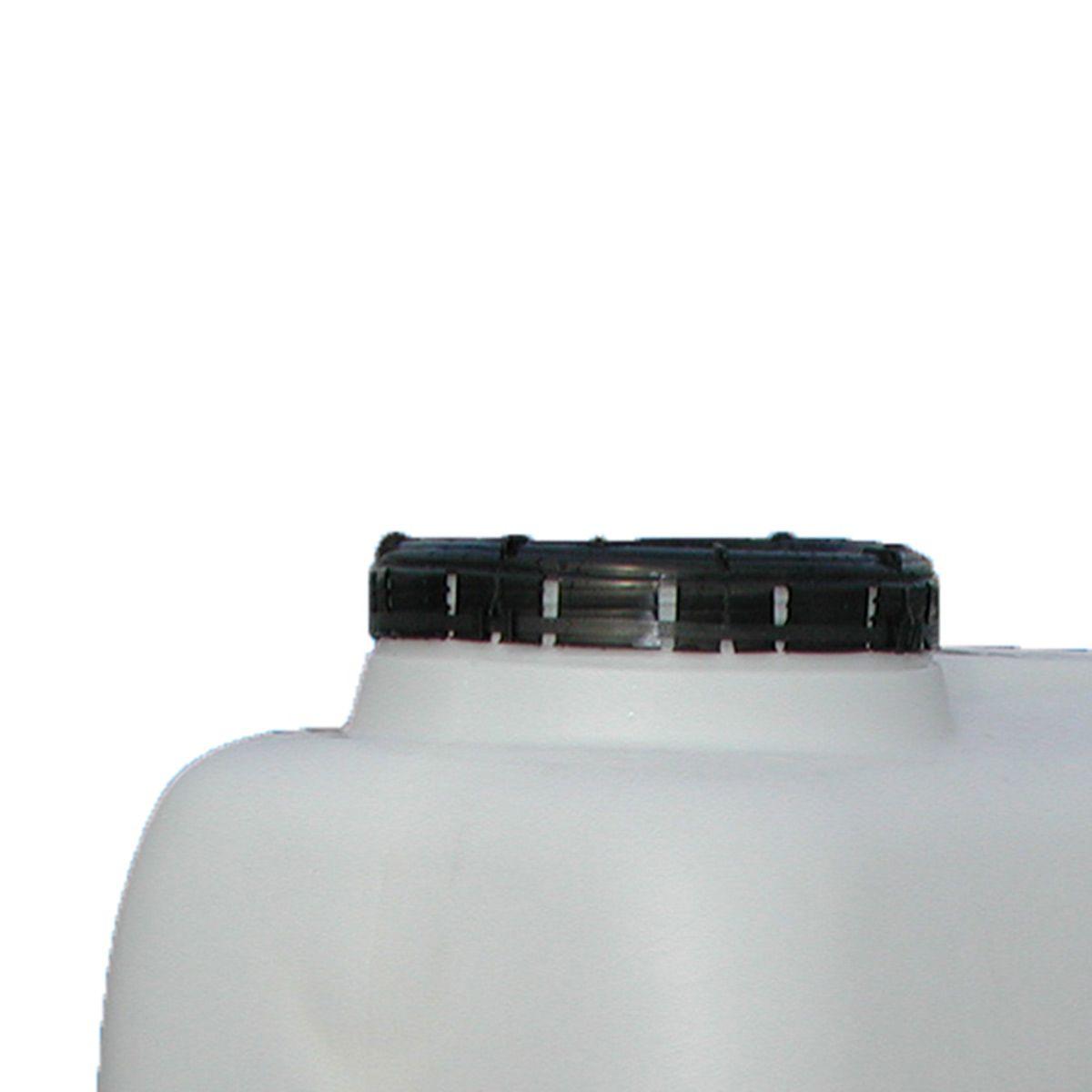 Mannlochdom angeschweisst, zu PEDF-5000, mit Mannlochdeckel, weiss, DN 400