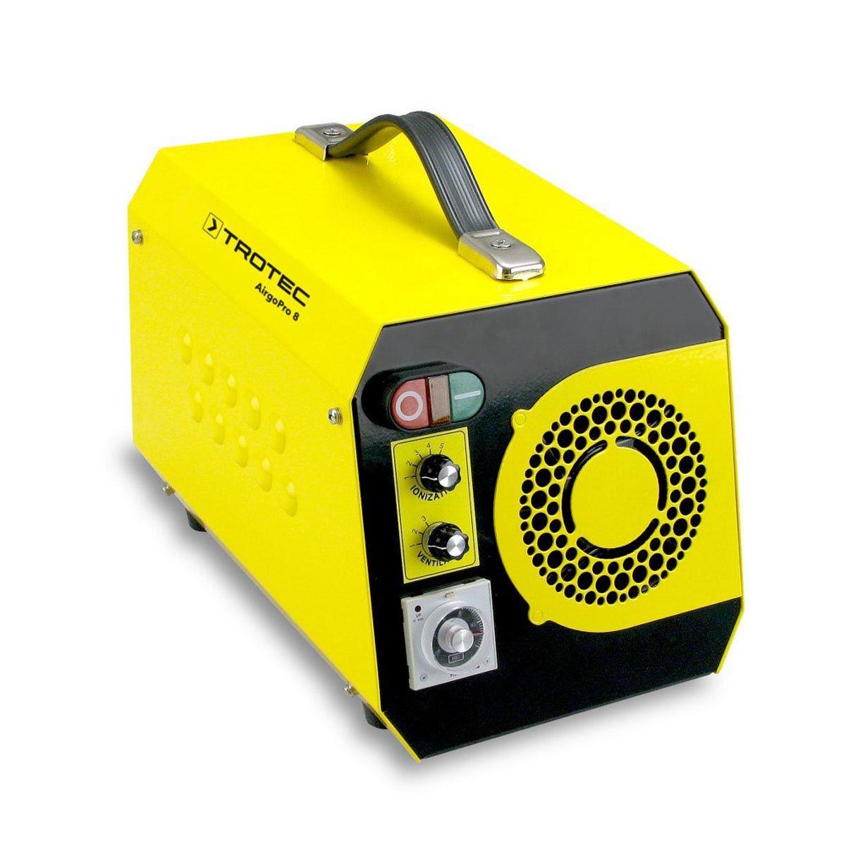 Geruchsbeseitiger, AirgoPro 8, gelb/schwarz, 350 x 230 x 250 mm