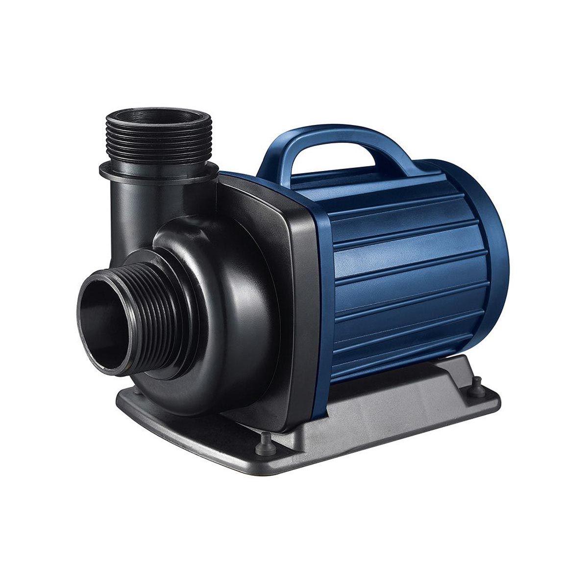 Teichpumpe LV 5000 12 Volt, speziell für Schwimmteiche, H max. 3.5 m, Q max. 5000 l/h, 0.040kW
